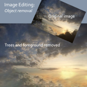 Image Editing - Object removal